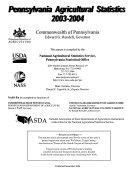 Pennsylvania Agricultural Statistics