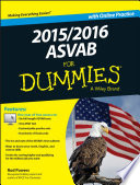 2015   2016 ASVAB For Dummies with Online Practice