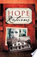 Hope Returns Book PDF