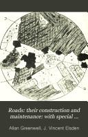 Roads Their Construction Maintenance