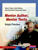 Mentor Author  Mentor Texts