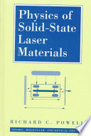 Physics of Solid State Laser Materials