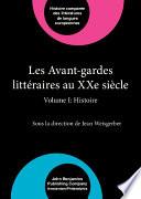 Les Avant-gardes littéraires au XXe siècle