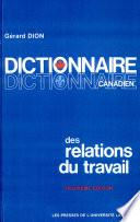 Dictionnaire canadien des relations du travail