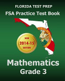 Florida Test Prep FSA Practice Test Book Mathematics Grade 3