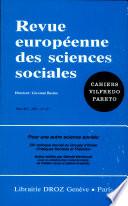 Pour une autre science sociale : XXe colloque annuel du Groupe d'étude