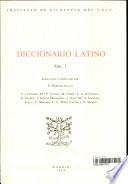 Diccionario latino
