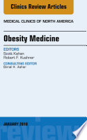 Obesity Medicine An Issue Of Medical Clinics Of North America E Book