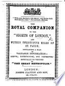 The Royal Companion to the Sights of London and Within Twenty five Miles of St  Paul s   In 25 Series   Book PDF