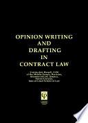 Opinion Writing In Contract Law