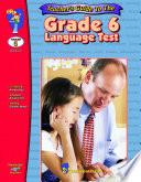 Grade 6 Language Test   Teacher Guide