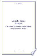 illustration du livre Les déboires de François