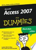 Access 2007 f  r Dummies