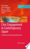 Civic Engagement in Contemporary Japan