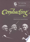 The Cambridge Companion to Conducting Practice Of Conducting Analysis And Advice
