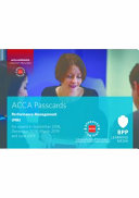 ACCA Performance Management: Passcards