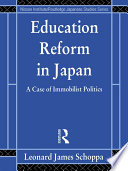 Education Reform in Japan