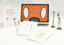 Tim Burton s Stick Boy and Match Girl Note Cards and Figures