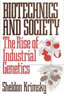 Biotechnics   society