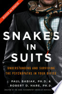 Snakes in Suits Book Cover