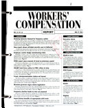 Bureau of National Affairs Workers' Compensation Report