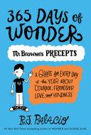 365 Days of Wonder: Mr. Browne's Precepts by R. J. Palacio
