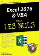 Excel 2016 et VBA pour les Nuls m  gapoche
