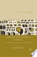 Applied Conversation Analysis
