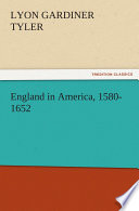 England in America  1580 1652