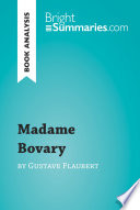 Madame Bovary by Gustave Flaubert  Book Analysis