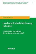 Land und Industrialisierung in Indien