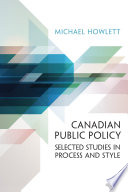 Canadian Public Policy