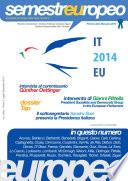 Semestre Europeo n. Unico - Anno 5, Luglio-Dicembre 2014