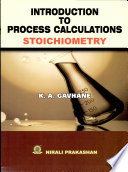 Introduction to Process Calculations Stoichiometry