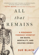 All that Remains Book PDF