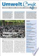 Zeitschrift UmweltBriefe Heft 07/2015