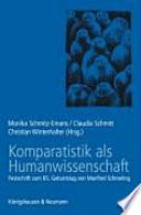 Komparatistik als Humanwissenschaft
