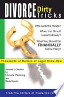 Divorce Dirty Tricks Book PDF