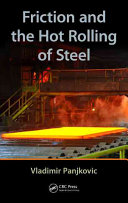 Friction and the Hot Rolling of Steel Pdf/ePub eBook