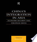 China s Integration in Asia