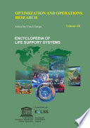 OPTIMIZATION AND OPERATIONS RESEARCH     Volume III