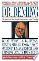 Dr  Deming