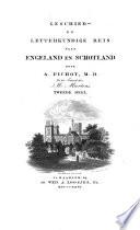 Geschied- en letterkundige reis naar Engeland en Schotland