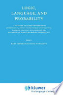 Logic  Language  and Probability