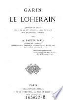 Garin le Loherain