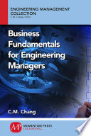 Business Fundamentals for Engineering Managers