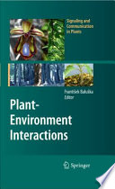 Plant Environment Interactions