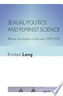 Sexual Politics and Feminist Science