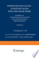 Wissenschaftliche Anwendungen der Photographie
