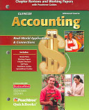 Glencoe Accounting  Advanced Course  Working Papers  Student Edition